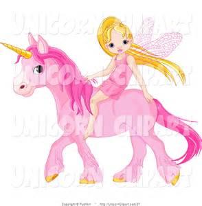 Pink Unicorn Clip Art