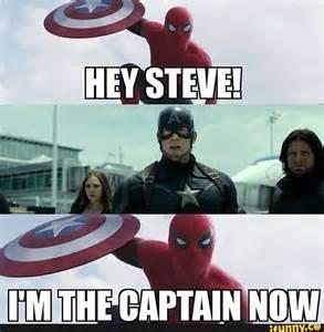 Spider-Man Memes Captain America Civil War