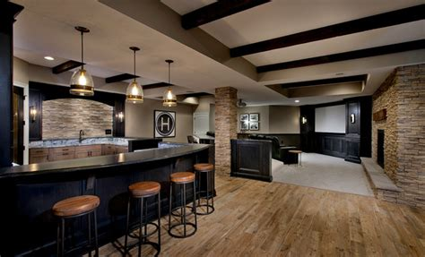 basement remodel features home theater  cranberry