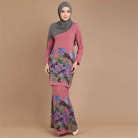 baju pink baju kurung malaysia best shopping fashion