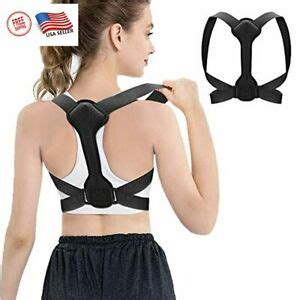 True Fit Posture Corrector Belt Adjustable Back Brace ...