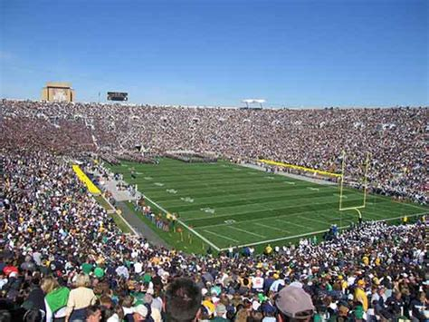 notre dame stadium seating chart row seat numbers