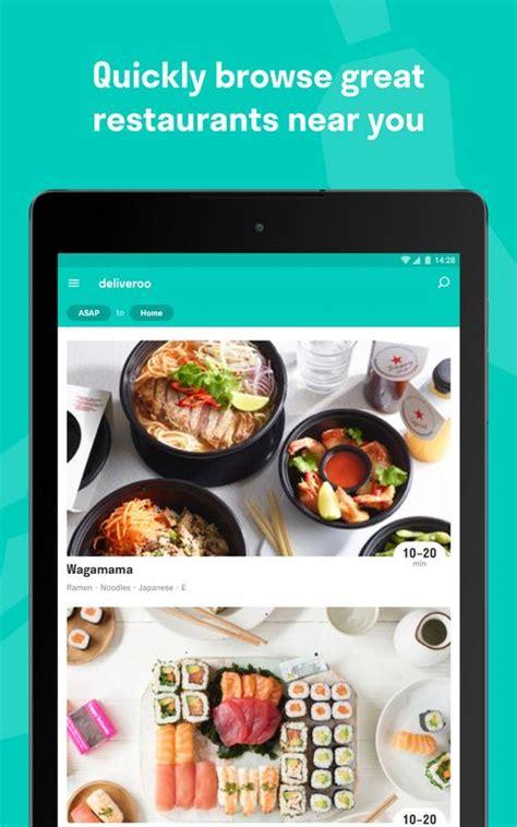 deliveroo restaurant delivery apk gr 225 tis comer e beber aplicativo para android