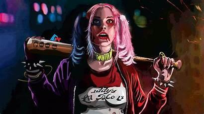 Quinn Harley 4k Wallpapers Squad Suicide Artworks