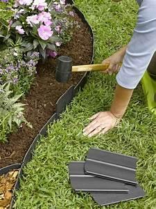 Bordure Plastique Jardin : id e bordure jardin 50 propositions pour votre ext rieur ~ Premium-room.com Idées de Décoration