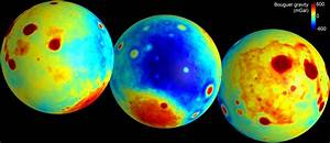 GRAIL creates most accurate Moon gravity map (w/ video)  Gravity