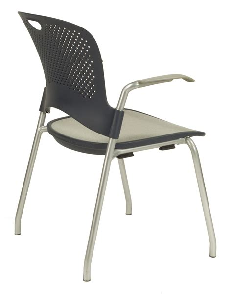 herman miller caper used stacking chair gray national