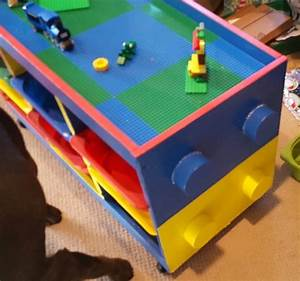 Trofast to LEGO table in one weekend - Decoration