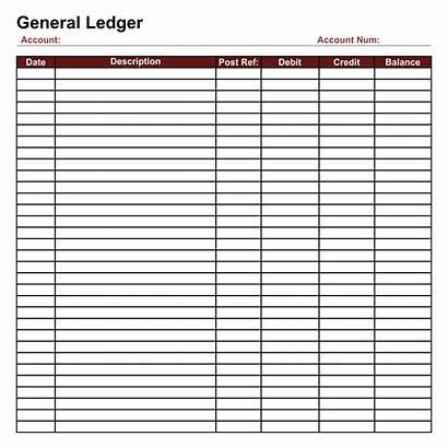 Ledger Printable Sheet Blank General Template Sheets
