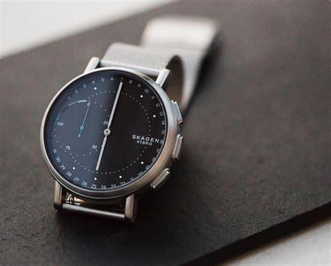Fashion Home Interiors - skagen 39 s signatur hybrid smartwatch dials in connectivity design milk