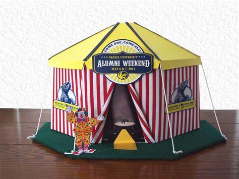 Circus Tent Centerpiece