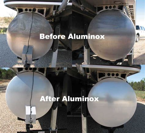 Cleaning Aluminum Boat Trailers by Aluminox Aluminum Brightener And Cleaner
