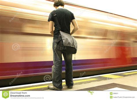 waiting metro stock image image