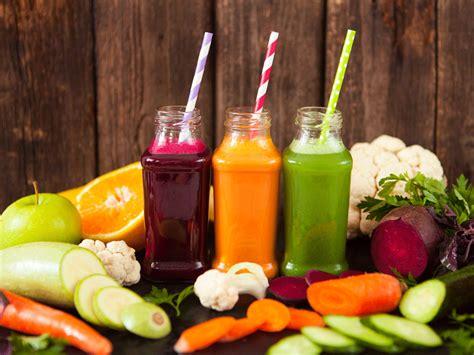 juice vegetable having glass