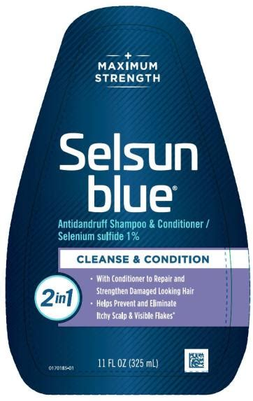 selsun blue normal  oily chattem  selenium sulfide   ml shampoo