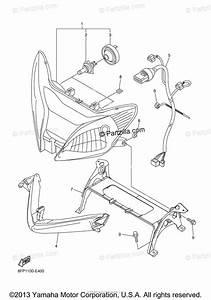 Yamaha Snowmobile 2006 Oem Parts Diagram For Headlight