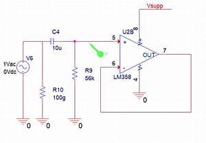 Low Pass Filter Circuit Application