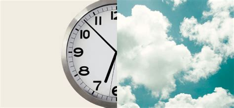 Clock Thinking Vs. Cloud Thinking