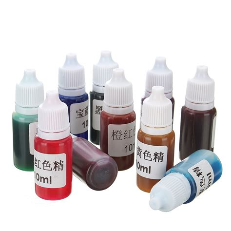 Coloring Uv Resin by 10pcs Set Diy Epoxy Color Epoxy Resin Pigment Uv Resin