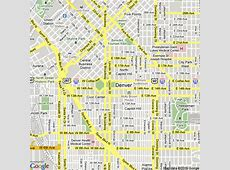 Map of Denver colorado, United States Hotels Accommodation