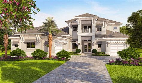 high end house plans high end florida house plan 86050bw architectural