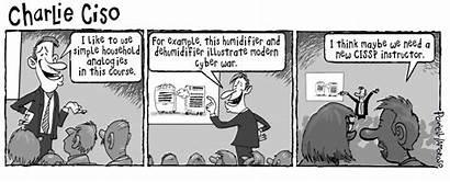 Cyber Cartoon Ciso Security Cissp Instructor Tag