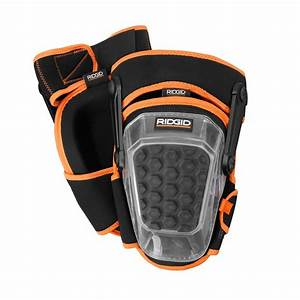 ridgid pro hinge stabilizing knee pad ft7001 the home depot With pro knee flooring knee pads