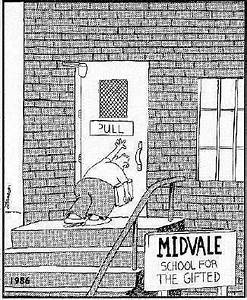 The Far Side - Mr. Doyle's Classroom