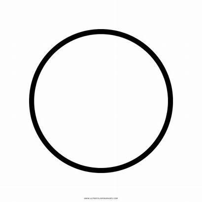 Circulo Colorear Dibujo