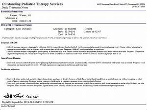 features electronic notes With home health physical therapy documentation examples
