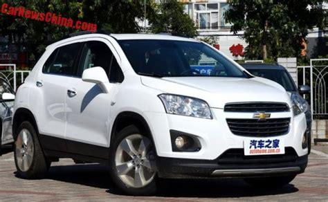 Modifikasi Chevrolet Trax by Chevrolet Trax Facelift Diperkenalkan Di China