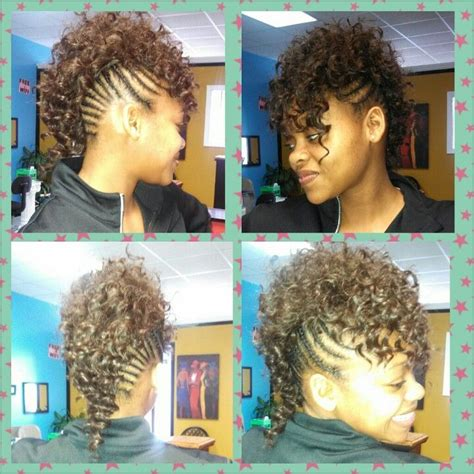 Mohawk Sew In Weave Hairstyles by Braided Mohawk Sew In By Venus Rice My Hairstyles