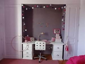 amenagement et decoration d39une chambre de jeune fille With deco chambre jeune fille