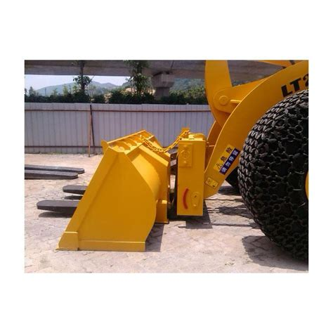 quick coupling bucket  fork holes  forklift loader  carry  stone waste factory china