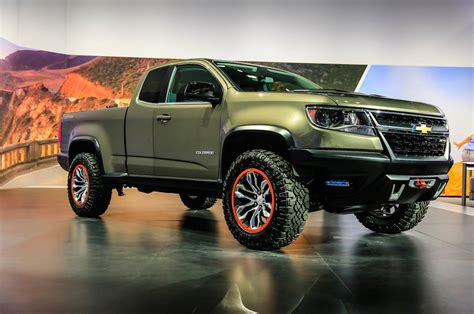 Maybe you would like to learn more about one of these? Trail-Ready Chevrolet Colorado ZR2 Concept Debuts in L.A ...