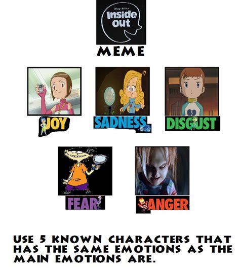 Inside Out Memes - my inside out meme by kirbystarwickett on deviantart