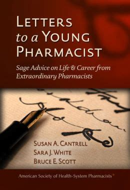 Pharmacist Advice by Letters To A Pharmacist Advice On