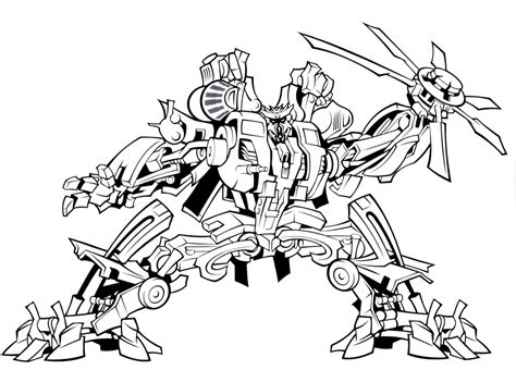 printable transformers robot coloring pages  boys