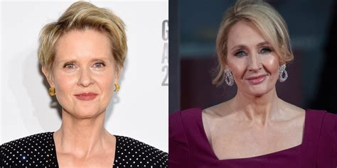 Cynthia Nixon Calls JK Rowling's Anti-Trans Tweets ...