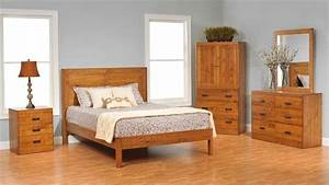 The charm and essence of real wood bedroom furniture My