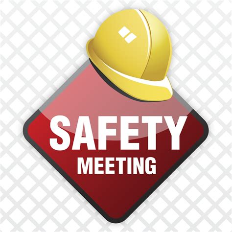 Safety Clip Meeting Clipart Safety Meeting Pencil And In Color