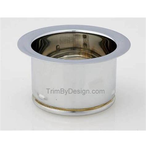 waste king garbage disposal flange trim by design tbd144 40 extended garbage disposer flange