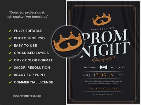 Prom Night Flyer By Majkolthemez Deviantart