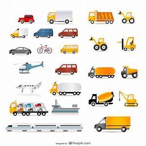 A wide range of transport vector Vector | Free Download