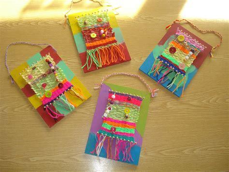 werken mit kindern ideen arge kleinschulen in vorarlberg gt textiles werken weben schule weben und grundschule