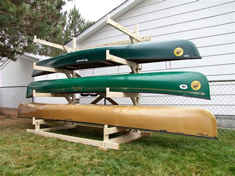 how to make a kayak rack canoe storage rack recherche bricolage