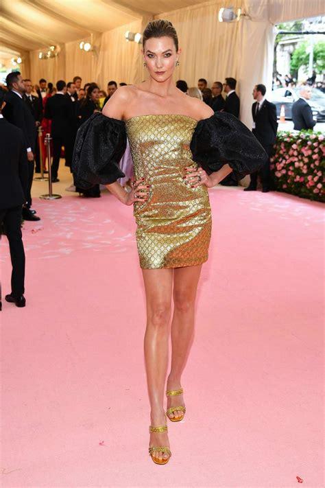 Karlie Kloss Attends The Met Gala Celebrating Camp
