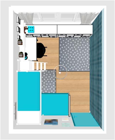 chambre vue de haut projet déco chambre d enfants cocon de décoration le