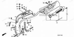 Honda Motorcycle 2007 Oem Parts Diagram For Muffler