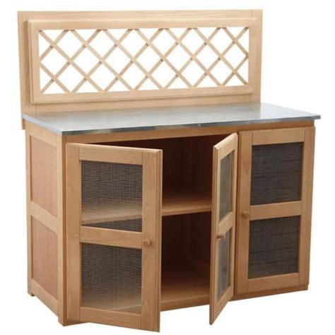 meuble pour cuisine d ext 233 rieur 120 x 51 x 120 achat vente table salle a manger pas cher